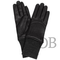 Перчатки с шерстяными манжетами Tosca Blu TF1658G80 nero