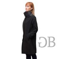 Пальто с нейлоновым воротником Tosca Blu TF165A515 nero