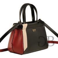 Маленькая трехцветная сумка Tosca Blu TF172B323 nero