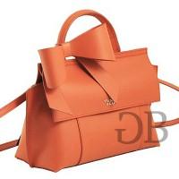 Маленькая сумка хэндбэг с бантом Tosca Blu TF17CB134 mattone