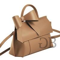 Маленькая сумка хэндбэг с бантом Tosca Blu TF17CB134 fango