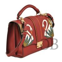 Строгая сумка с клапаном Tosca Blu TF17WB280 bordeaux