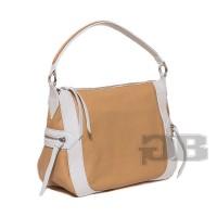 Небольшая сумка-мешок Tosca Blu TS14WB113 beige-bianco