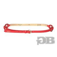 Кожаный пояс Tosca Blu TS151C667 rosso