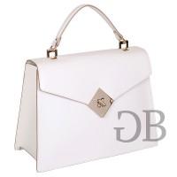 Строгая сумка с клапаном Tosca Blu TS175B211 bianco