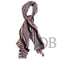 Легкий шарф размерами 60х180 Tosca Blu TS175F670 multicolor
