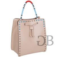 Сумка-рюкзак с голубым бисером Tosca Blu TS176B261 naturale