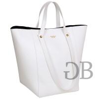 Большая сумка формы Тоте Tosca Blu TS17CB170 bianco
