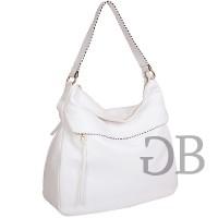 Большая сумка хобо Tosca Blu TS17EB133 bianco