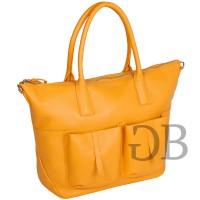 Большая сумка с карманами Tosca Blu TS17OB281 giallo