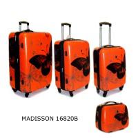 Комплект чемоданов пластик Airtex 16820Borange