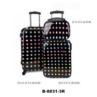 Комплект чемоданов пластик David Jones B8831-3ronds