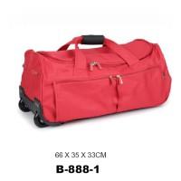 Дорожная сумка на колесах David Jones B888-1rouge