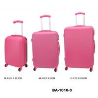 Комплект чемоданов пластик David Jones BA1010-3fuchsia
