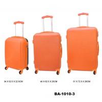Комплект чемоданов пластик David Jones BA1010-3orange