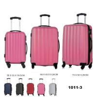 Комплект чемоданов пластик David Jones BA1011-3fuchsia