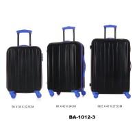 Комплект чемоданов пластик David Jones BA1012-3bleu