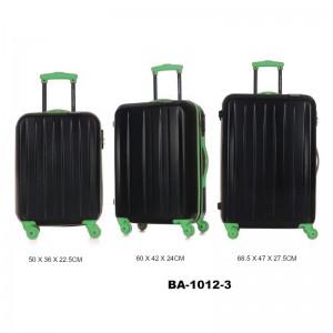 Комплект чемоданов пластик David Jones BA1012-3vert