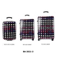 Комплект чемоданов пластик David Jones BA2021-3