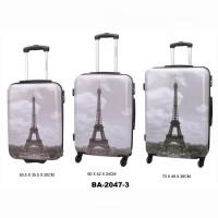 Комплект чемоданов пластик David Jones BA2047-3