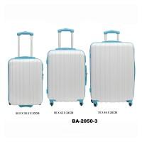 Комплект чемоданов пластик David Jones BA2050-3blanc