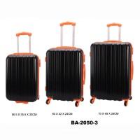 Комплект чемоданов пластик David Jones BA2050-3noir