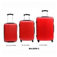 Комплект чемоданов пластик David Jones BA2050-3rouge