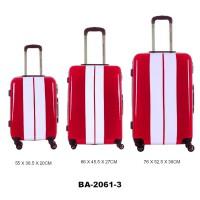 Комплект чемоданов пластик David Jones BA2061-3rouge