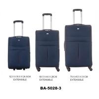 Комплект чемоданов текстиль David Jones BA5028-3bleu