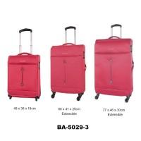 Комплект чемоданов текстиль David Jones BA5029-3fuchsia