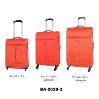 Комплект чемоданов текстиль David Jones BA5029-3orange